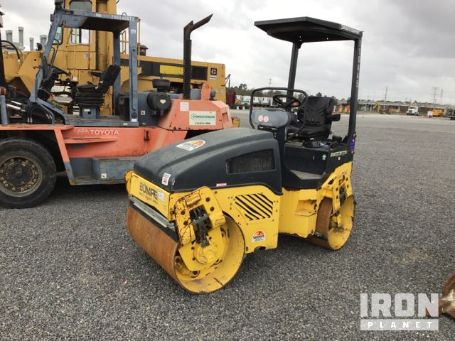 2013 Bomag BW120AD-4 Vibratory Double Drum Roller, Parts/Stationary Construction-Other