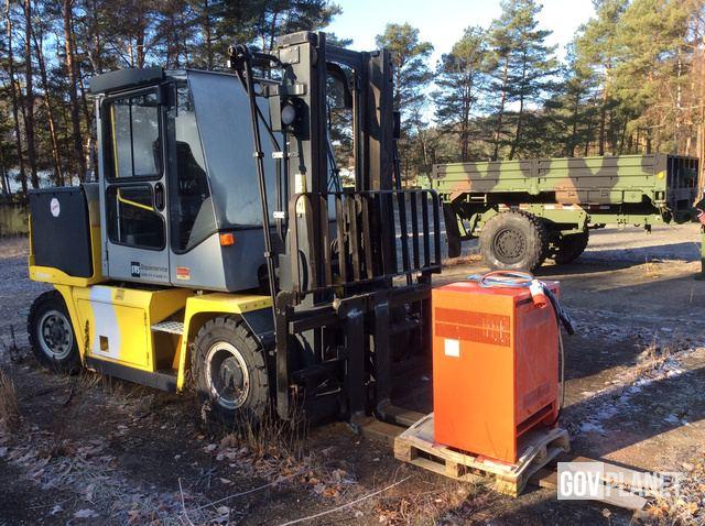 2007 Kalmar ECE 60-6 Electric Forklift, Electric Forklift