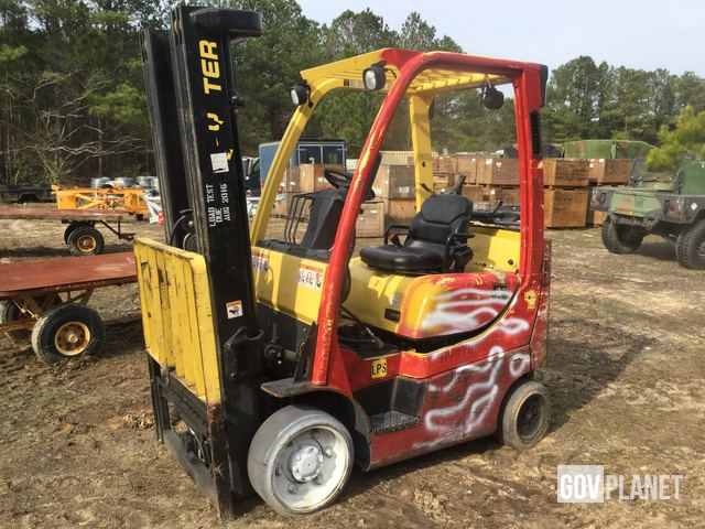 Hyster S55FTS Cushion Tire Forklift, Forklift