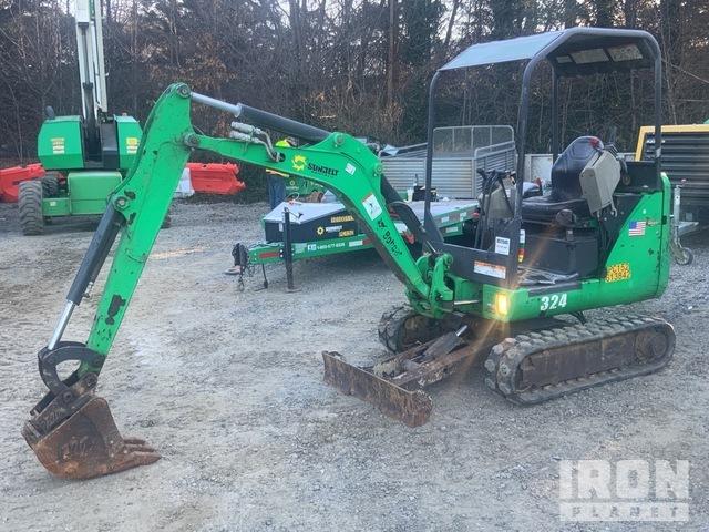 2014 Bobcat 324M Mini Excavator, Mini Excavator (1 - 4.9 Tons)