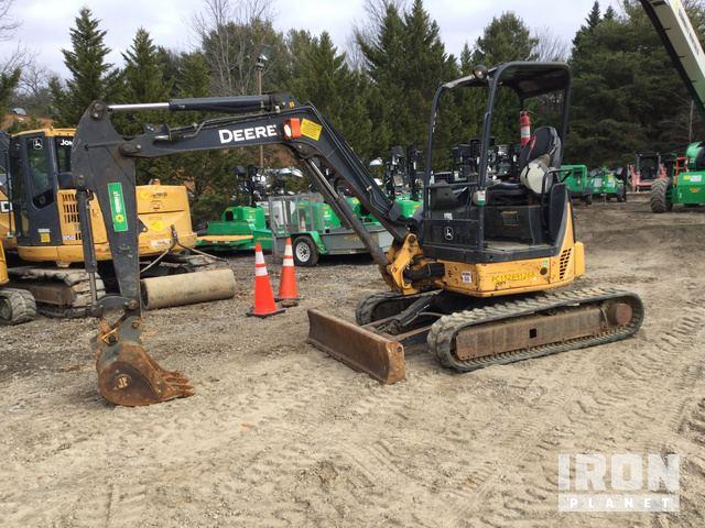 2013 (unverified) John Deere 35D Mini Excavator, Mini Excavator (1 - 4.9 Tons)