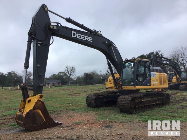 2016 John Deere 300GLC Track Excavator, Hydraulic Excavator