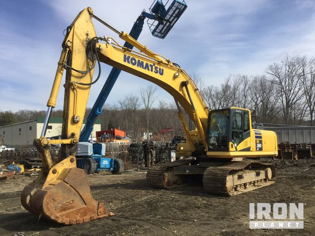 2016 Komatsu PC360LC-10 Track Excavator, Hydraulic Excavator