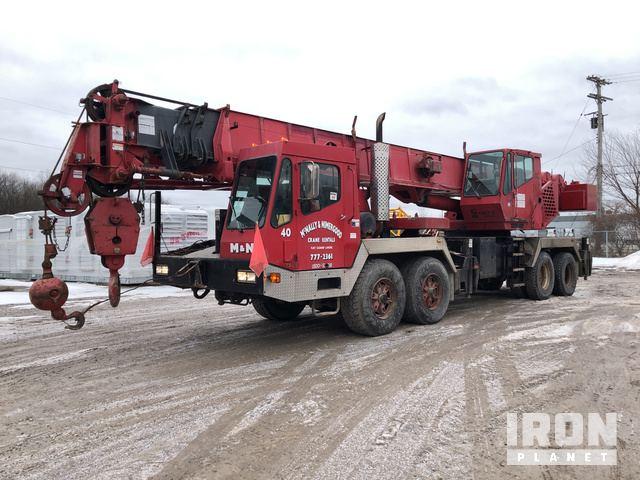 Grove TMS640 Hydraulic Truck Crane, Hydraulic Truck Crane