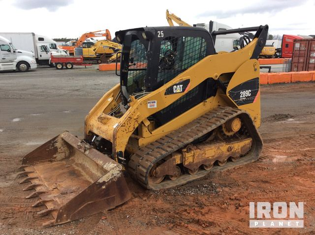 2012 Cat 289C Compact Track Loader, Compact Track Loader