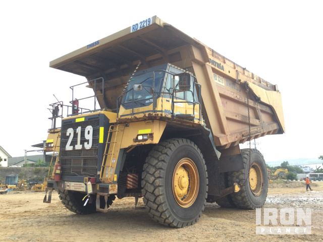 2008 Komatsu HD785-7 Off-Road End Dump Truck, Rock Truck