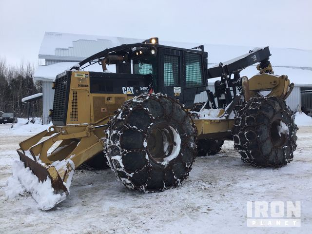 2012 Cat 545C Wheel Skidder, Skidder