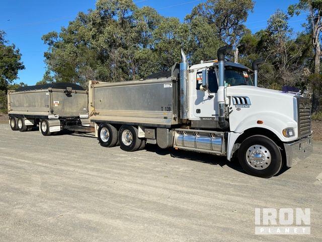 2016 Mack CMHR Trident 6x4 Tipper Truck & Dog Combination, Dump Truck (T/A)