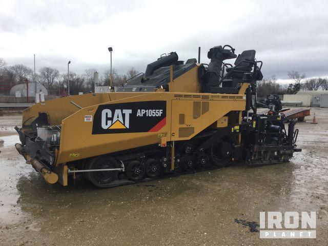 2017 Cat AP1055F Asphalt Paver, Asphalt Paver