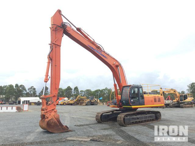 2002 Hitachi ZX330LC Track Excavator, Hydraulic Excavator