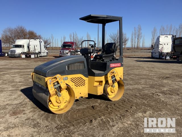 2014 Bomag BW120AD-4 Vibratory Double Drum Roller, Tandem Roller