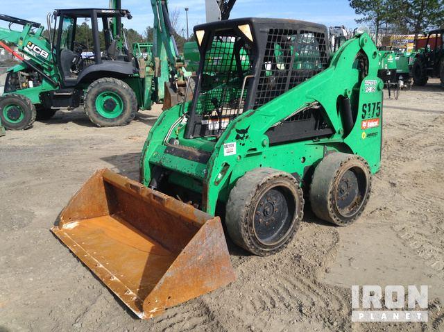 2012 Bobcat S175 Skid-Steer Loader, Skid Steer Loader