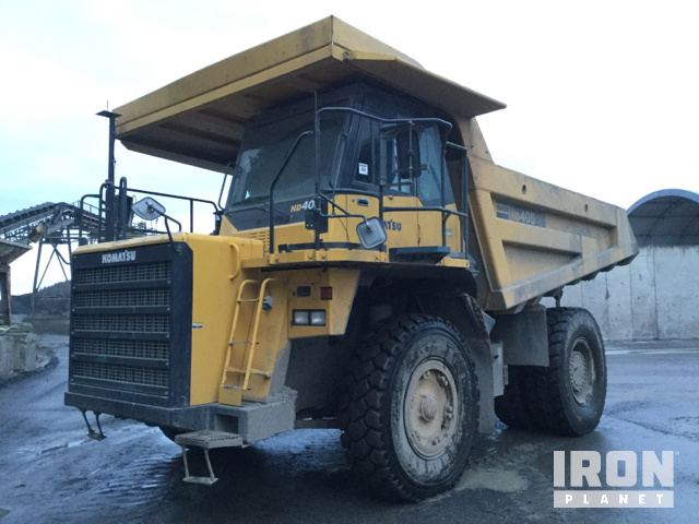 2007 Komatsu HD405-7 Off-Road End Dump Truck, Rock Truck