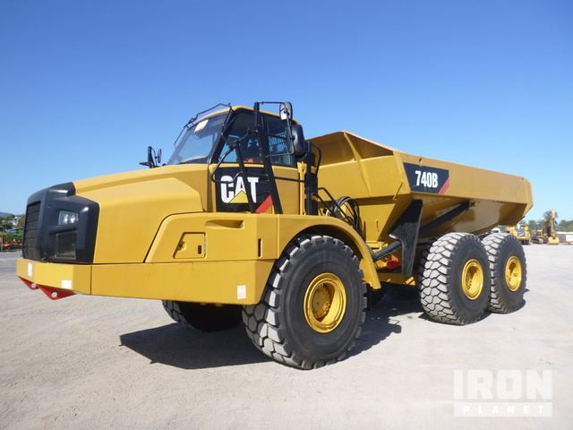 2011 Cat 740B 6x6 Articulated Dump Truck, Articulated Dump Truck