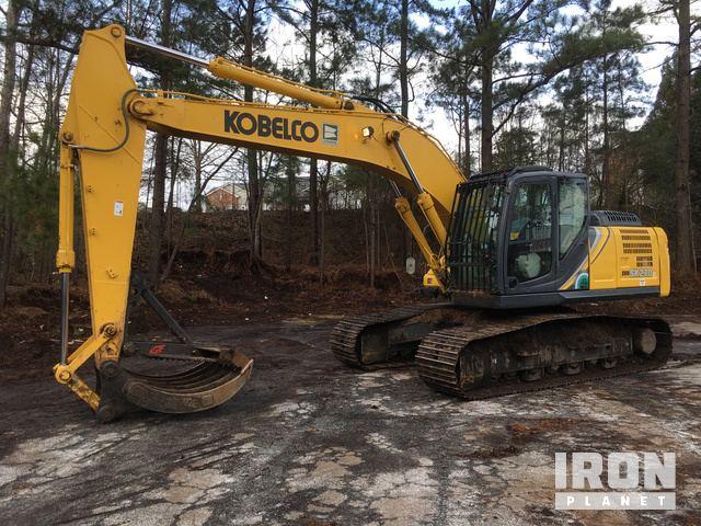 2018 Kobelco SK210LC-10 Track Excavator, Hydraulic Excavator
