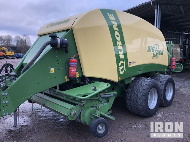 2009 Krone Big Pack 1270 Baler, Baler