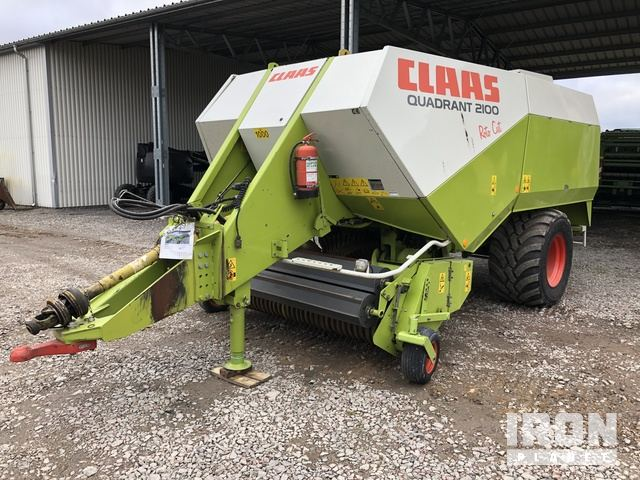 2004 Claas Quadrant 2100 Big Square Baler, Hay Equipment - Other