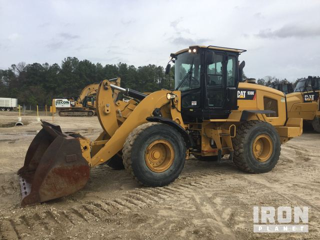 2013 Cat 938K Wheel Loader, Wheel Loader