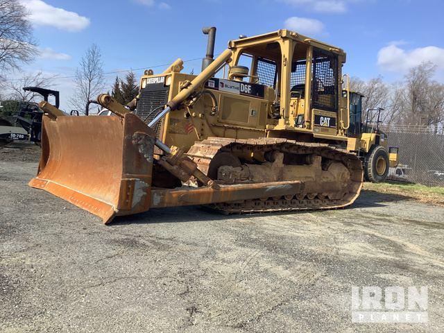 Cat D6E Crawler Dozer, Crawler Tractor