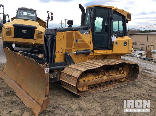 2014 John Deere 700K Crawler Dozer, Crawler Tractor
