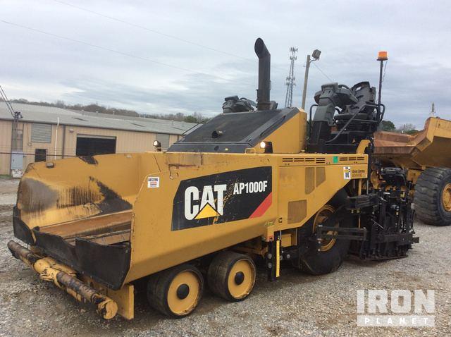2015 Cat AP1000F Asphalt Paver, Asphalt Paver