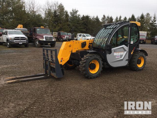 2018 Dieci 5519 Telehandler, Telescopic Forklift
