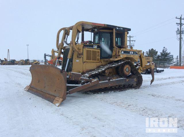 Cat D7R XR Series II Crawler Dozer, Crawler Tractor