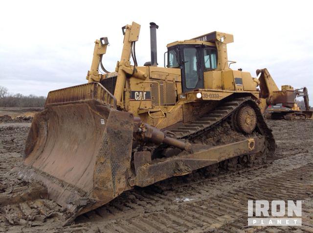 Cat D10R Crawler Dozer, Crawler Tractor