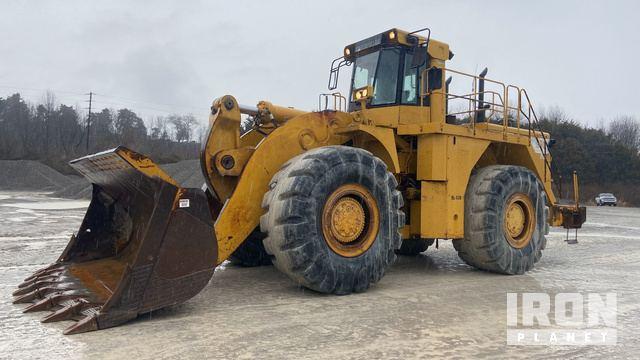 Cat 990 Wheel Loader, Wheel Loader