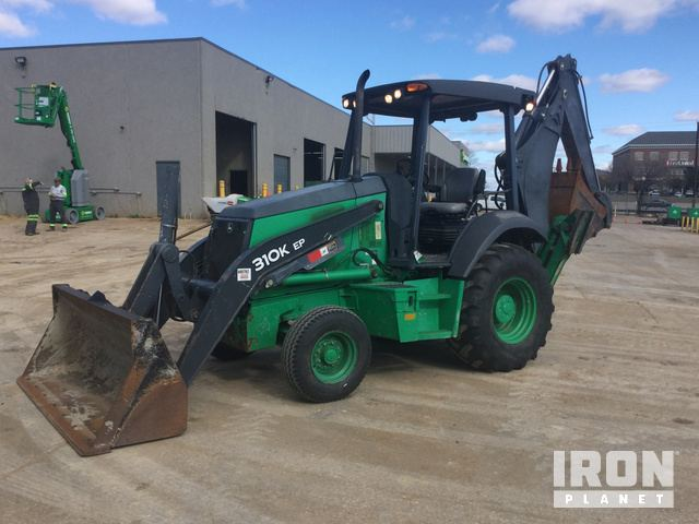 2014 John Deere 310EK Backhoe Loader, Loader Backhoe
