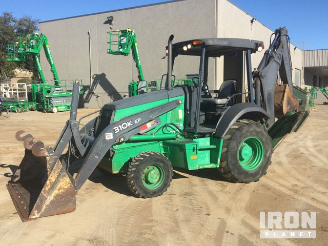 2014 John Deere 310EK 4x4 Backhoe Loader, Loader Backhoe