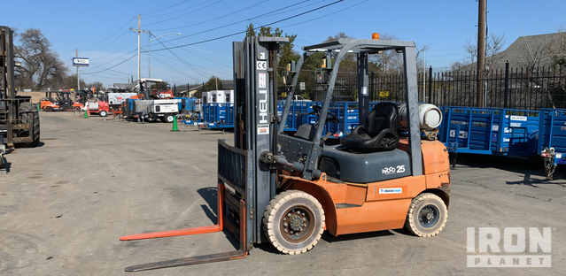 2011 Heli CPYD25-TY5 Pneumatic Tire Forklift, Forklift