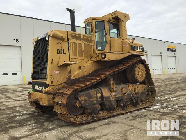 Cat D9L Crawler Dozer, Crawler Tractor