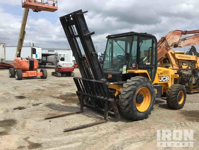 2012 JCB 930 6000 lb 4x4 Rough Terrain Forklift, Parts/Stationary Construction-Other