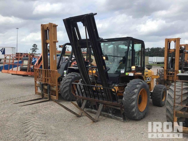 2011 (unverified) JCB 930 6,000 lb 4x4 Rough Terrain Forklift : <5,000lb, Rough Terrain Forklift