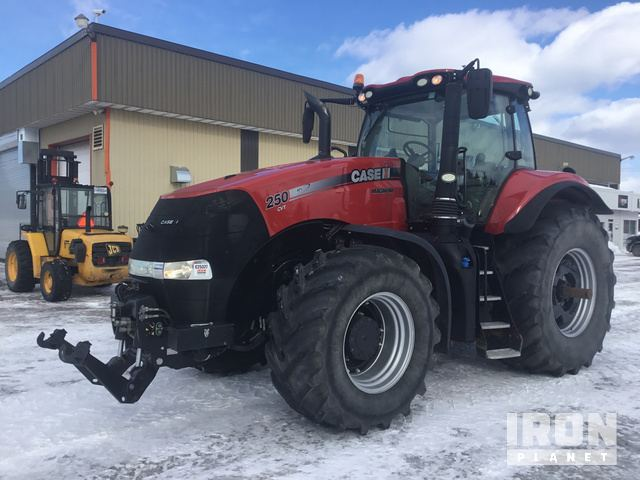 2015 Case IH Magnum 250 4WD Tractor, MFWD Tractor