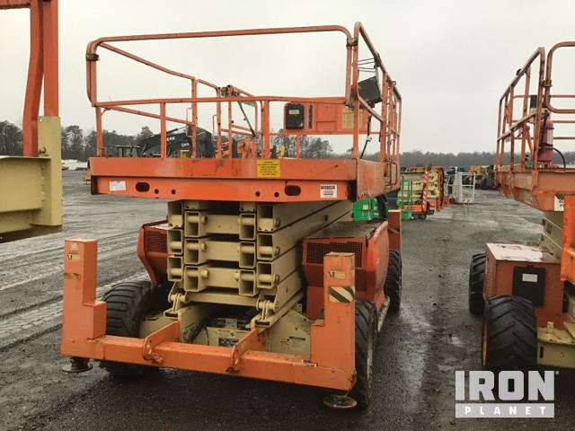 2008 JLG 4394RT 4WD Dual Fuel Scissor Lift, Parts/Stationary Construction-Other