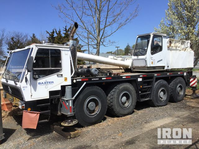 1987 Krupp 70GMT-AT All Terrain Crane, Parts/Stationary Construction-Other