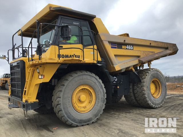 2007 Komatsu HD465-7E0 Off-Road End Dump Truck, Rock Truck