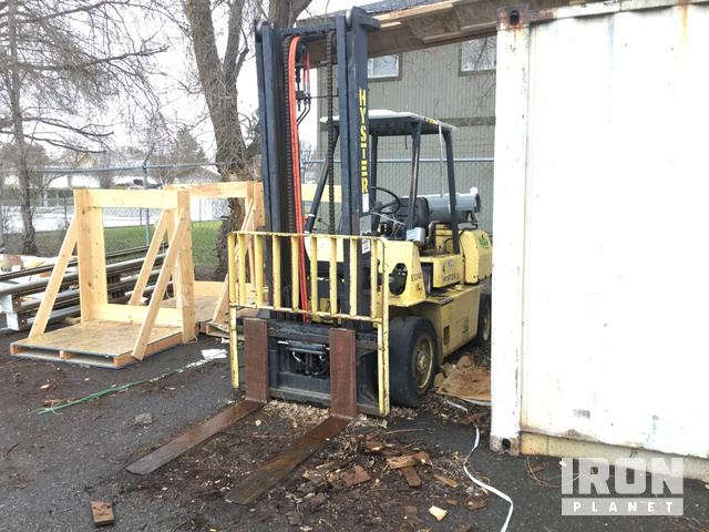 Hyster H80XL Pneumatic Tire Forklift, Parts/Stationary Construction-Other