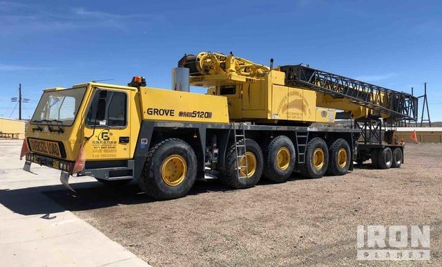 2001 (unverified) Grove GMK5120B 120 Ton All Terrain Crane, All Terrain Crane