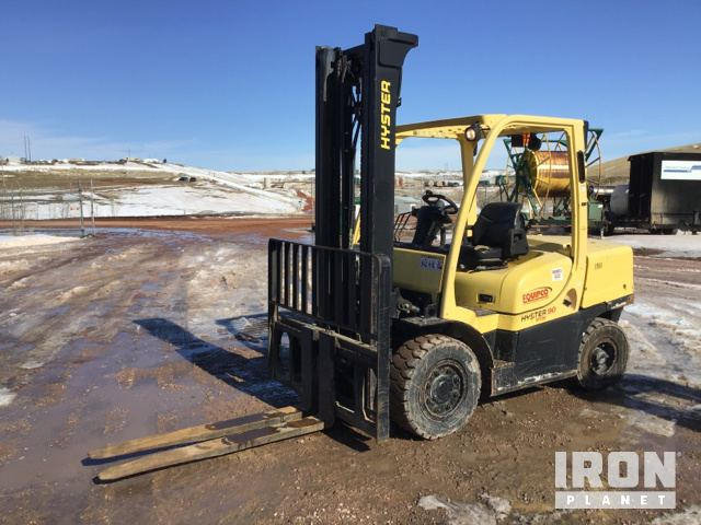 2008 Hyster H90FT Pneumatic Tire Forklift, Forklift