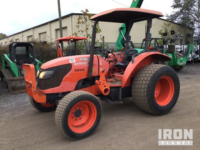 2013 (unverified) Kubota M7040SU 4WD Tractor, MFWD Tractor