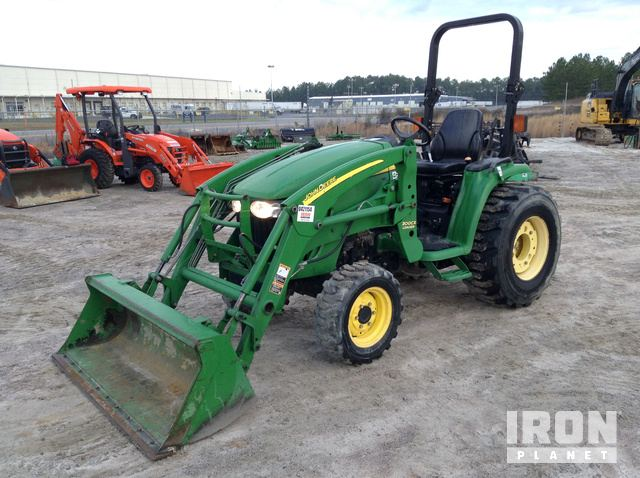 2012 (unverified) John Deere 3320 4WD Tractor, MFWD Tractor