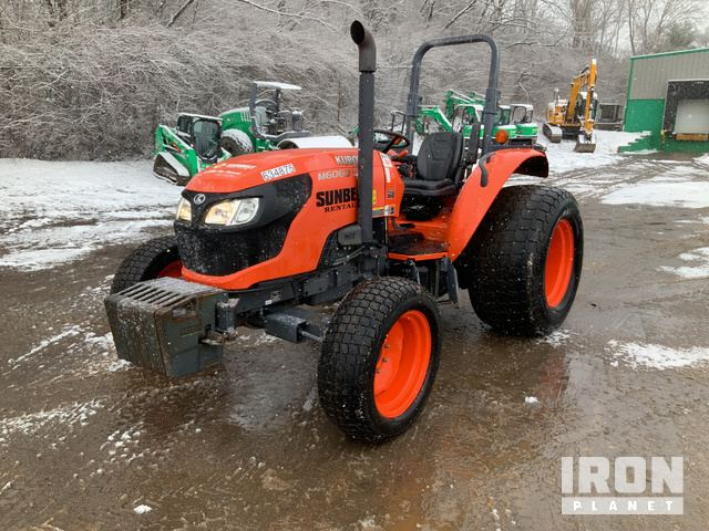 2014 (unverified) Kubota M6060HD 4WD Tractor, MFWD Tractor