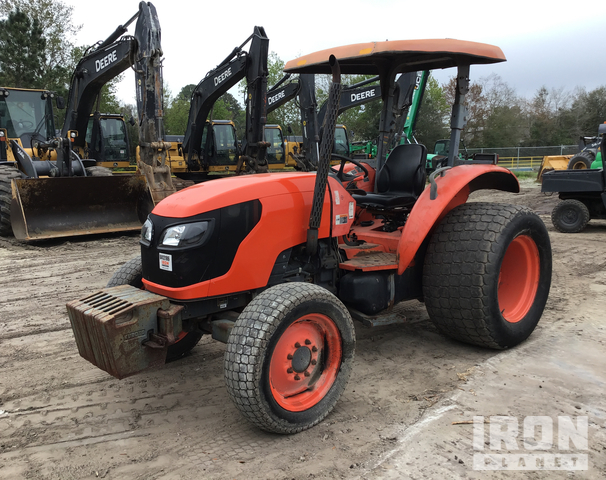 2013 (unverified) Kubota M7040SUD 4WD Tractor, MFWD Tractor