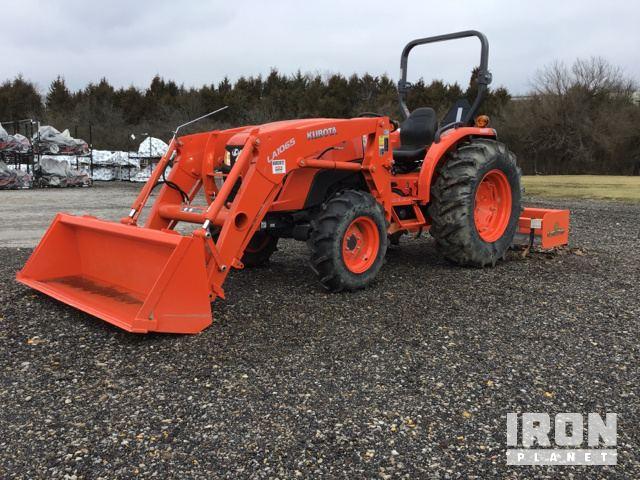 2017 Kubota MX5200D 4WD Tractor, MFWD Tractor