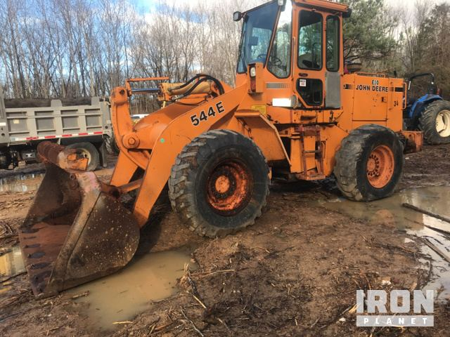 John Deere 544E Wheel Loader, Parts/Stationary Construction-Other