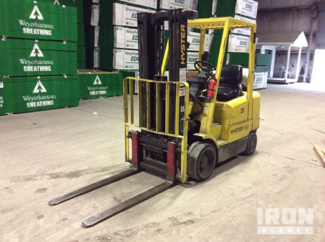 Hyster S50XM Cushion Tire Forklift, Forklift