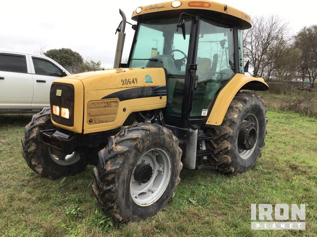 2006 Challenger MT455B 4WD Tractor, MFWD Tractor